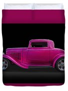 1932 Ford Hot Rod Duvet Cover