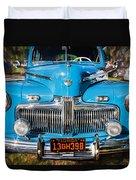 1942 Ford Super Deluxe Sedan Painted  Duvet Cover
