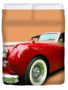 1953 Jaguar M K V II Duvet Cover