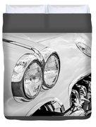 1959 Chevrolet Corvette Grille Duvet Cover