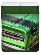 1969 Dodge Coronet Super Bee Duvet Cover