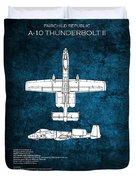 A-10 Thunderbolt II  Duvet Cover