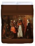 A Visit From The Old Mistress Duvet Cover