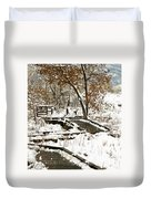 A Winter's Day Duvet Cover