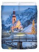 A Winter's Dream Duvet Cover