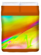 Abstract Colours. Duvet Cover