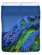 Abstract Fractal Landscape Duvet Cover