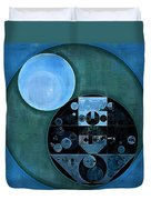 Abstract Painting - Lapis Lazuli Duvet Cover