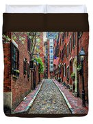 Acorn Street Boston Duvet Cover
