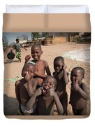 Africa's Children Duvet Cover
