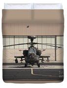 Ah-64d Apache Longbow At Pinal Airpark Duvet Cover