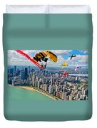Air-show Duvet Cover