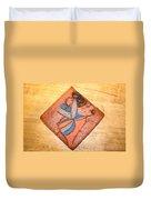 Akaweese - Tile Duvet Cover