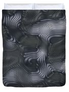 Alien Fluid Metal Duvet Cover
