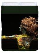 Alight A Sculpture By Adam Long Duvet Cover