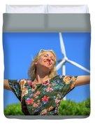 Alternative Energy Concept Duvet Cover