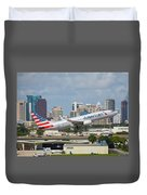 American Airlines Duvet Cover