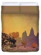 Angkor Sunrise Duvet Cover