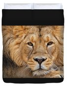 Angolian Lion Duvet Cover