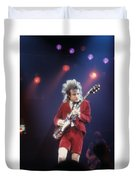 Angus Young Duvet Cover