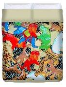 Animal Cookies Duvet Cover