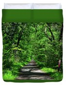 Appalachian Trail In Maryland Duvet Cover