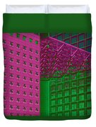 Architectural Abstract Duvet Cover