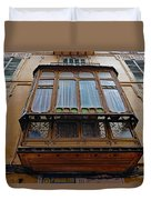 Artistic Architecture In Palma Majorca Spain Duvet Cover