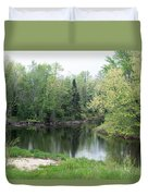 At The River Duvet Cover