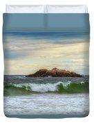 Atlantic Waves Duvet Cover