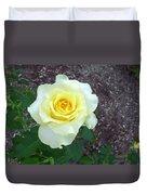 Australia - Yellow Rose Flower Duvet Cover