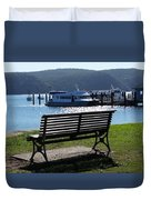 Australia - Seat Of Knowledge Duvet Cover