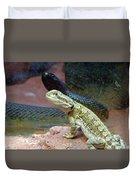 Australia - The Taipan Snake Duvet Cover