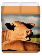 Australian Cows Duvet Cover
