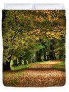 Autumn Park Duvet Cover