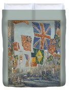 Avenue Of The Allies Duvet Cover