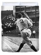 Babe Ruth Duvet Cover