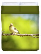 Baby Sparrow Duvet Cover