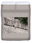 Ball Court At The Coba Ruins  Duvet Cover