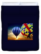 2 Balloons Duvet Cover