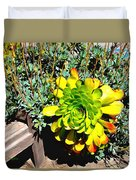 Succulent Study 2 Duvet Cover