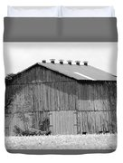 Barn In Kentucky No 71 Duvet Cover
