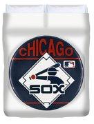 Baseball Button Duvet Cover