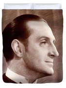 Basil Rathbone, Actor Duvet Cover