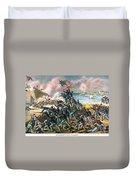 Battle Of Fort Wagner, 1863 Duvet Cover
