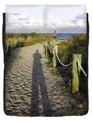 Beach Entry Duvet Cover