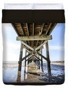Beach Pier Duvet Cover