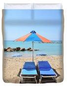 Beach Resort Duvet Cover