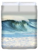 Beautiful Wave Breaking Duvet Cover by Vince Cavataio - Printscapes