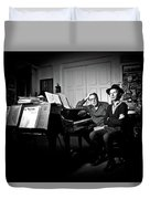 Beck And Philip Glass Photographed By Anna Webber, September 23rd, Duvet Cover